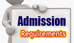 Admission Requirement